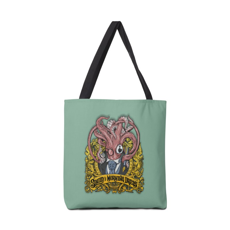 Squid in Morning Dress Accessories Bag by Octophant's Artist Shop