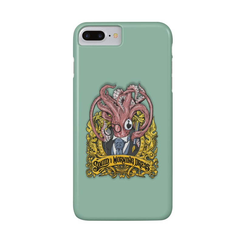 Squid in Morning Dress Accessories Phone Case by Octophant's Artist Shop