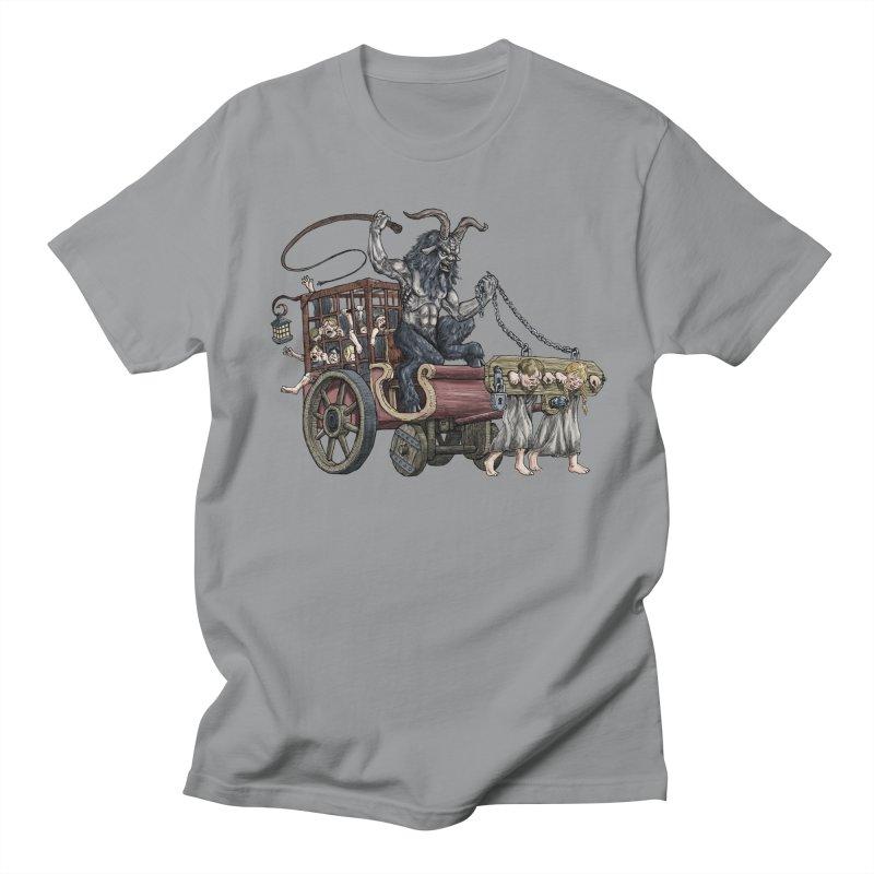 Krampus Wagon Men's Regular T-Shirt by Octophant's Artist Shop