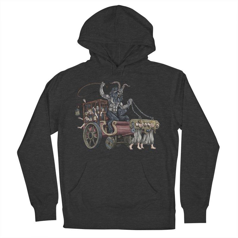 Krampus Wagon Women's Pullover Hoody by Octophant's Artist Shop