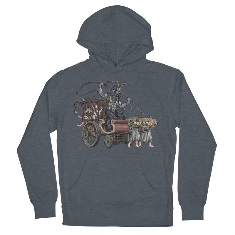 Krampus Wagon Women's Pullover Hoody by Octophant's Artist Shop