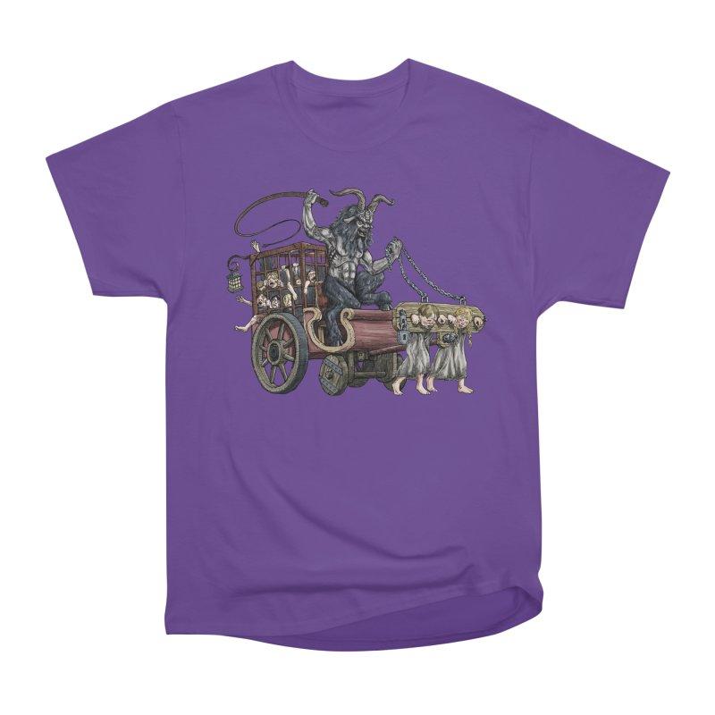 Krampus Wagon Men's Classic T-Shirt by Octophant's Artist Shop