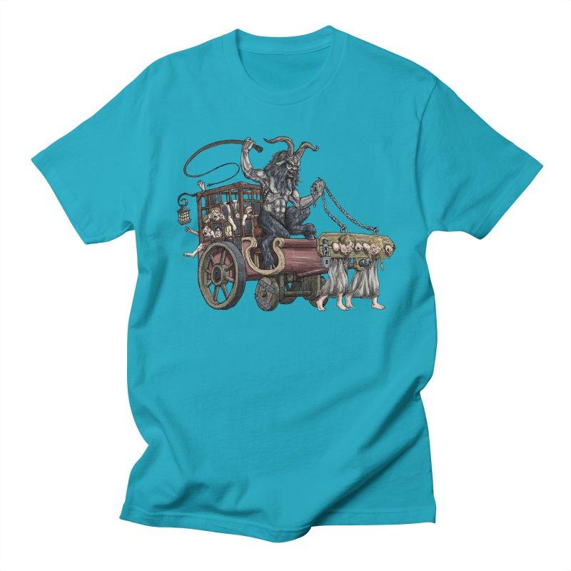 Krampus Wagon Women's Regular Unisex T-Shirt by Octophant's Artist Shop