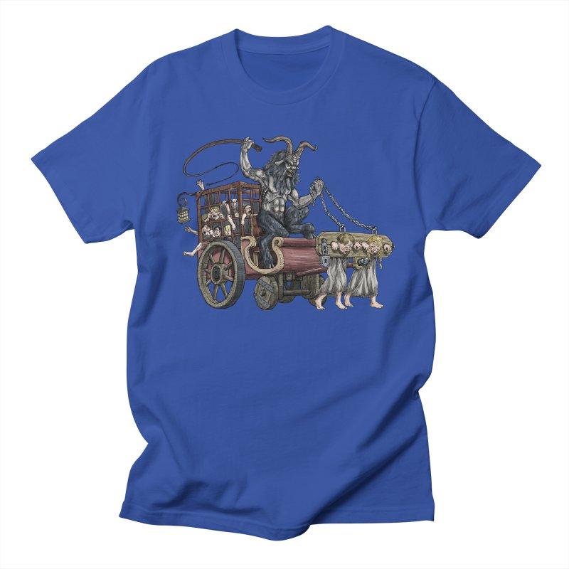Krampus Wagon Women's Unisex T-Shirt by Octophant's Artist Shop