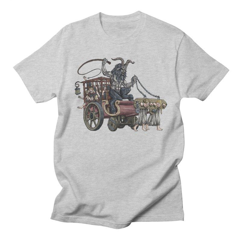 Krampus Wagon Men's T-shirt by Octophant's Artist Shop