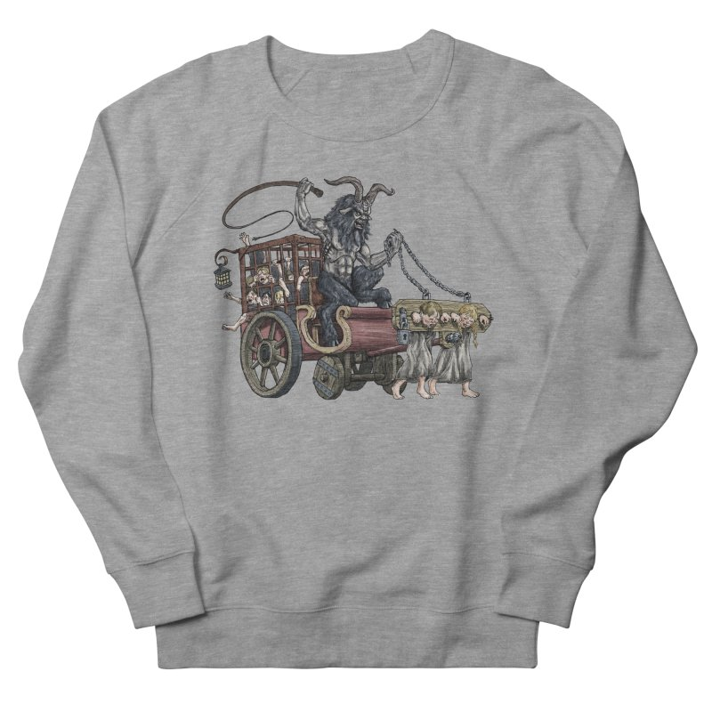 Krampus Wagon Men's Sweatshirt by Octophant's Artist Shop