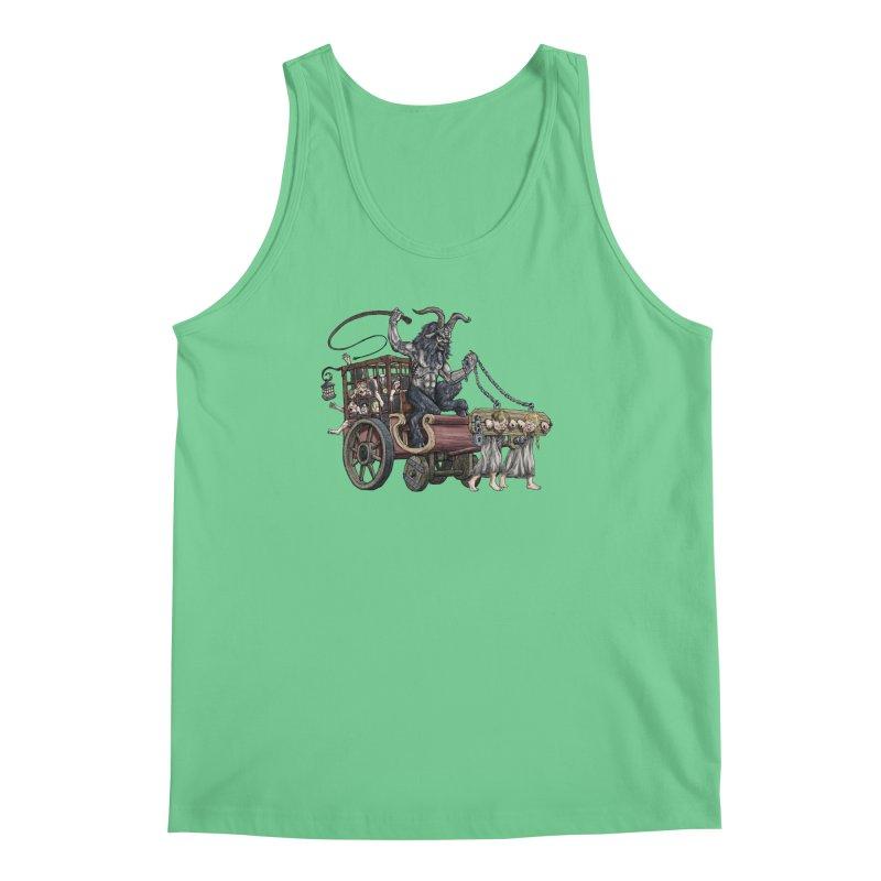 Krampus Wagon Men's Regular Tank by Octophant's Artist Shop
