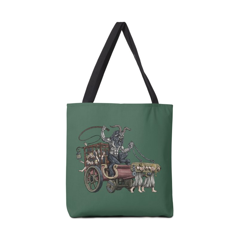 Krampus Wagon Accessories Bag by Octophant's Artist Shop