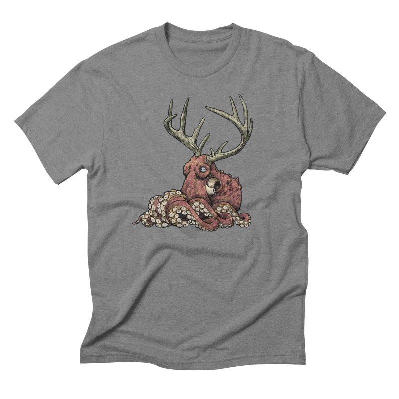 Octolope Men's Triblend T-Shirt by Octophant's Artist Shop