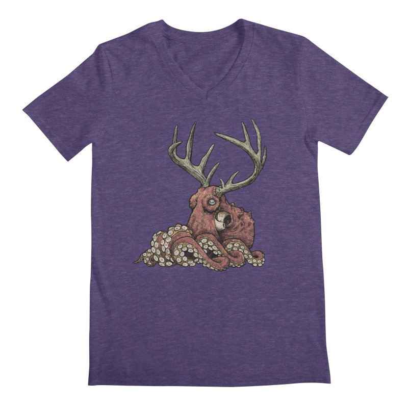 Octolope Men's V-Neck by Octophant's Artist Shop