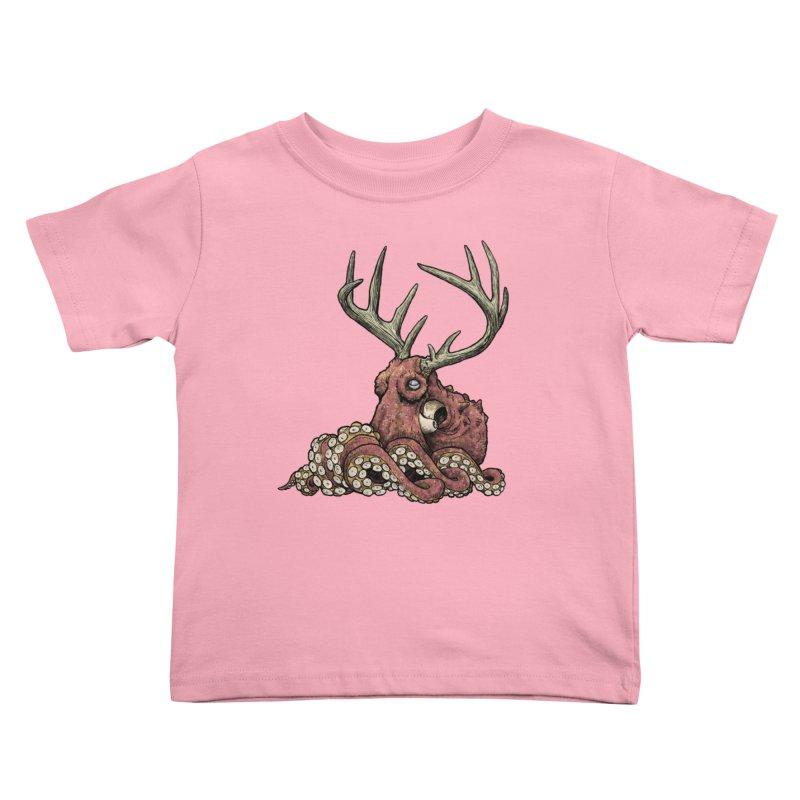Octolope Kids Toddler T-Shirt by Octophant's Artist Shop
