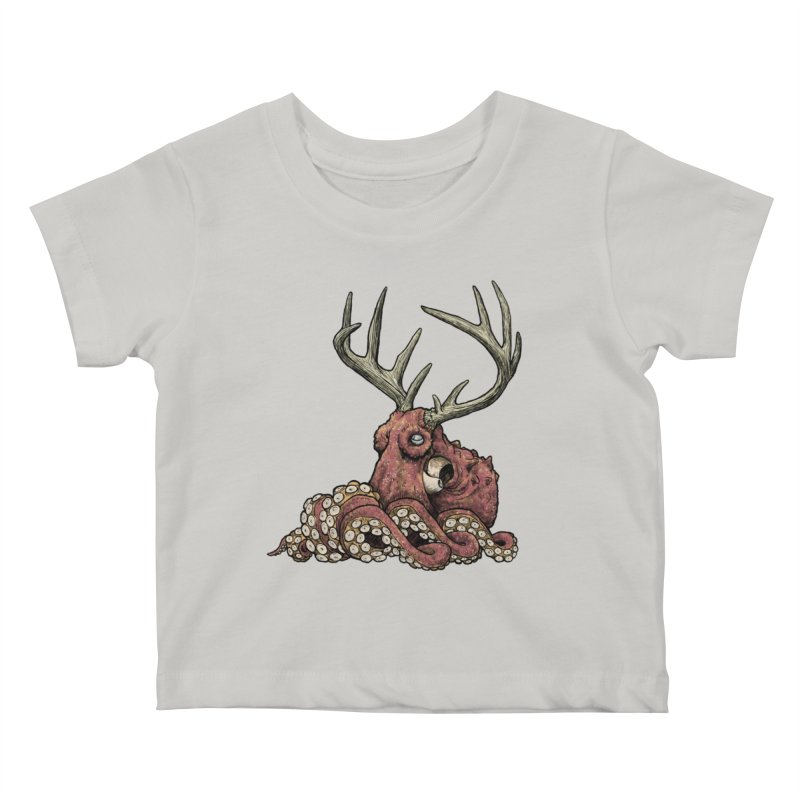 Octolope Kids Baby T-Shirt by Octophant's Artist Shop