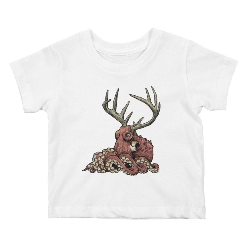 Octolope Kids Baby T-Shirt by Octophant's Artist Shop