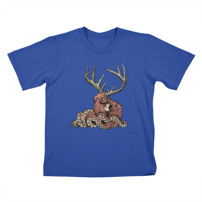 Octolope Kids T-shirt by Octophant's Artist Shop