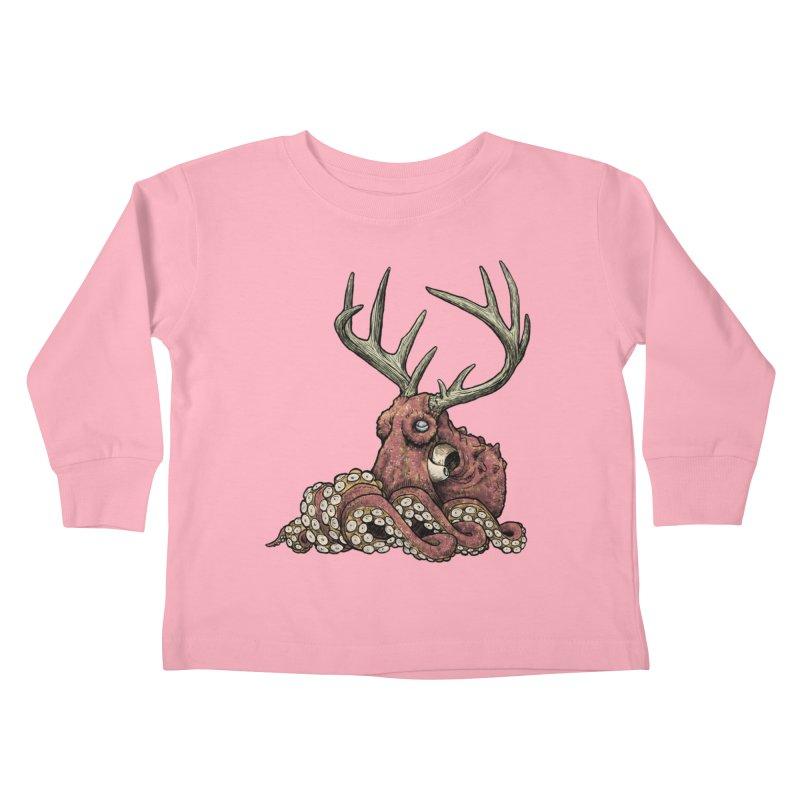 Octolope Kids Toddler Longsleeve T-Shirt by Octophant's Artist Shop