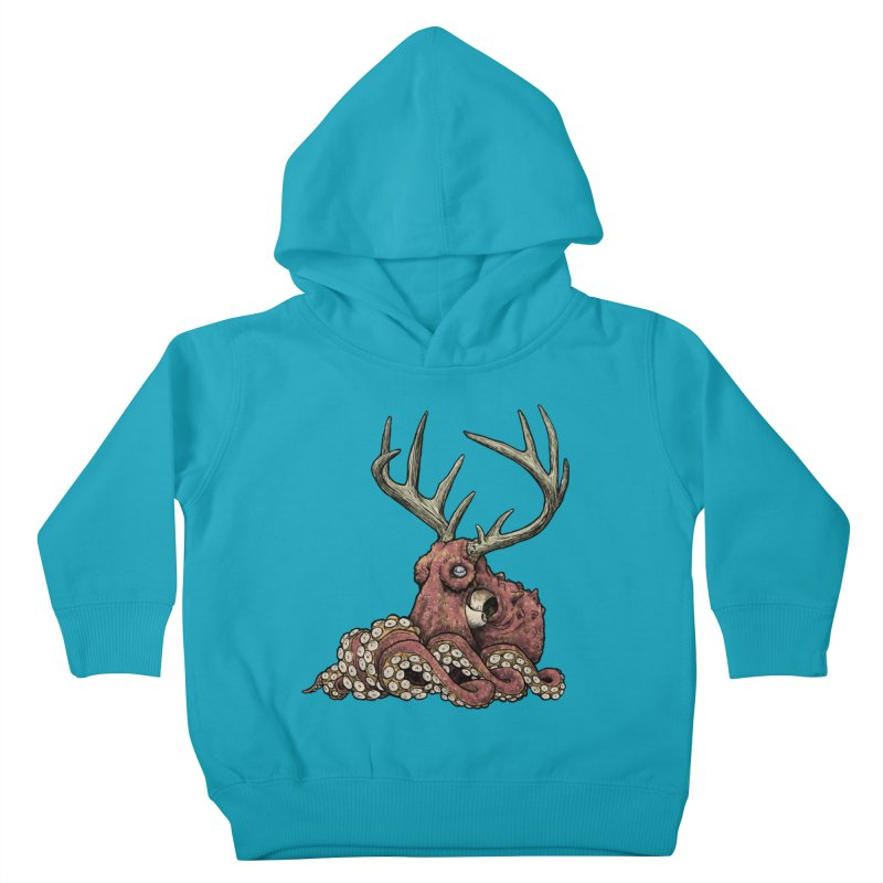 Octolope Kids Toddler Pullover Hoody by Octophant's Artist Shop