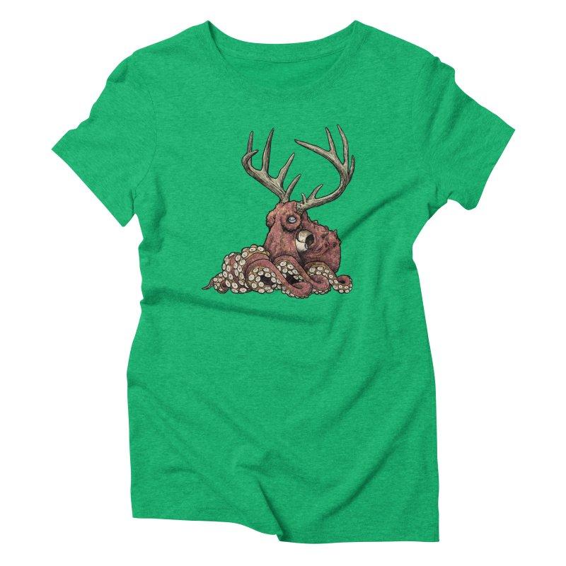 Octolope Women's Triblend T-Shirt by Octophant's Artist Shop