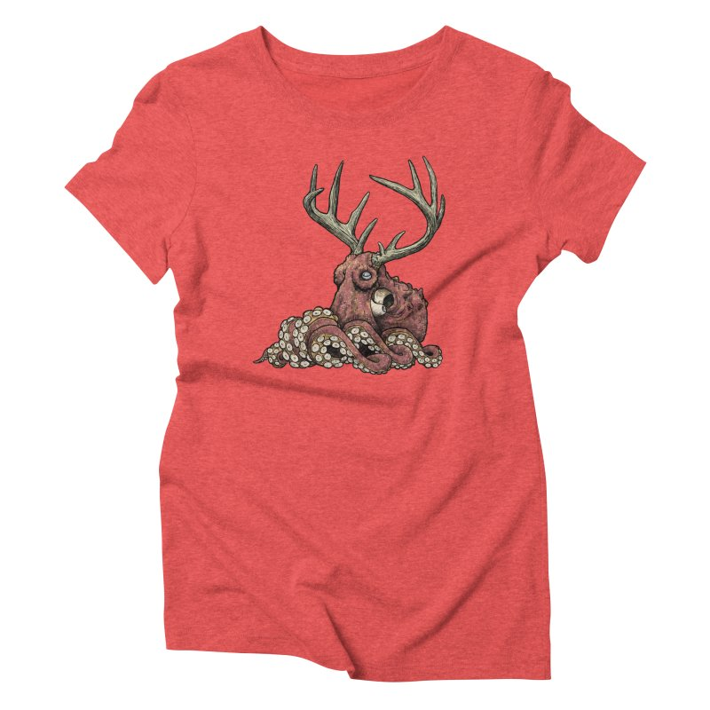 Octolope Women's Triblend T-Shirt by Octophant's Artist Shop