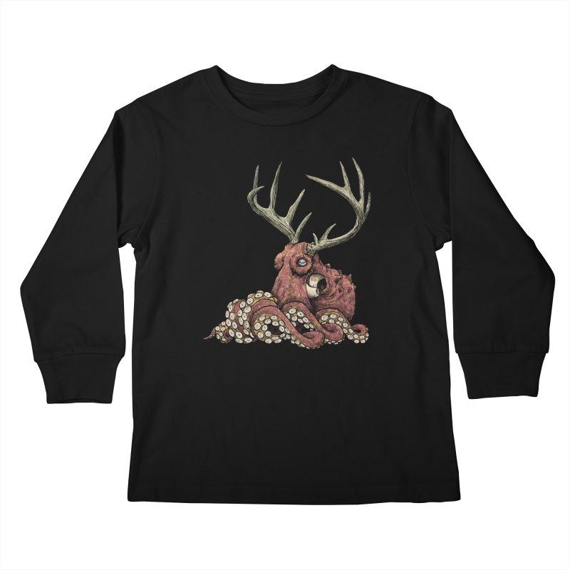 Octolope Kids Longsleeve T-Shirt by Octophant's Artist Shop