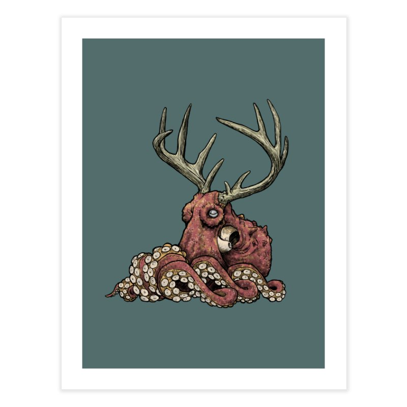 Octolope Home Bath Mat by Octophant's Artist Shop