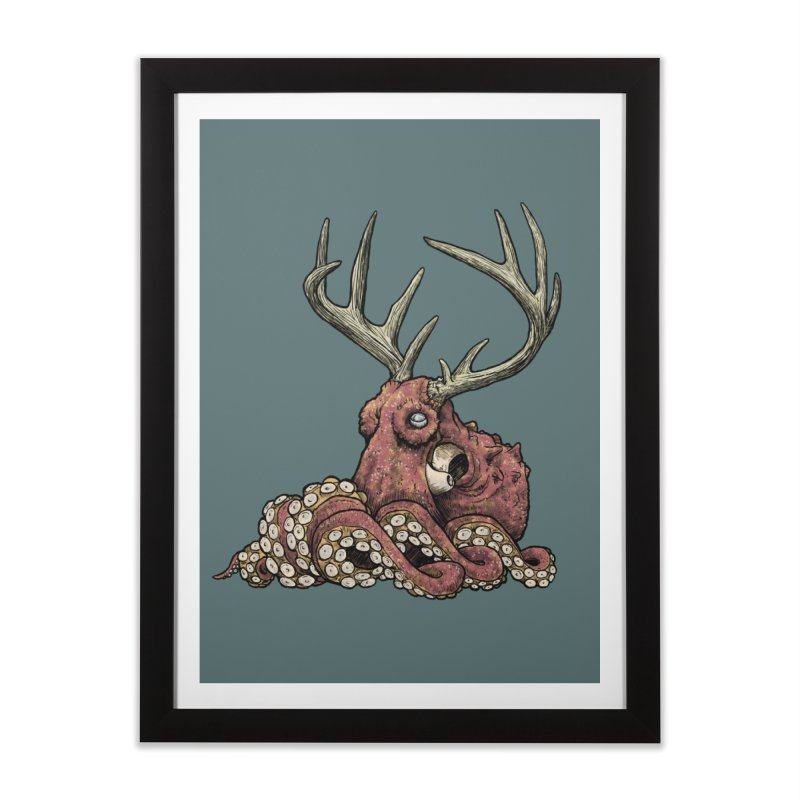 Octolope Home Framed Fine Art Print by Octophant's Artist Shop