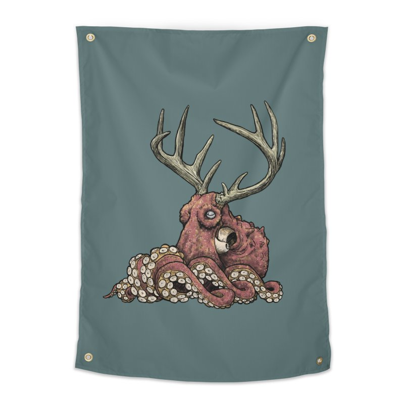 Octolope Home Tapestry by Octophant's Artist Shop