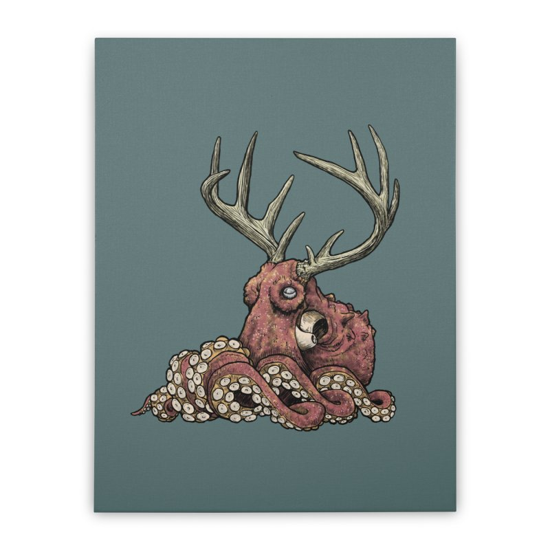 Octolope Home Stretched Canvas by Octophant's Artist Shop