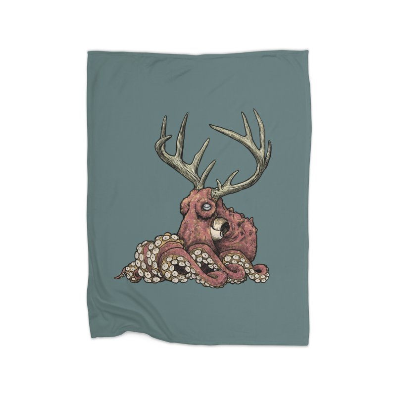 Octolope Home Blanket by Octophant's Artist Shop