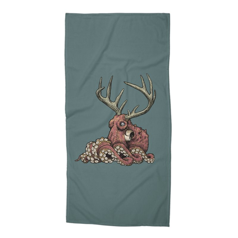 Octolope Accessories Beach Towel by Octophant's Artist Shop