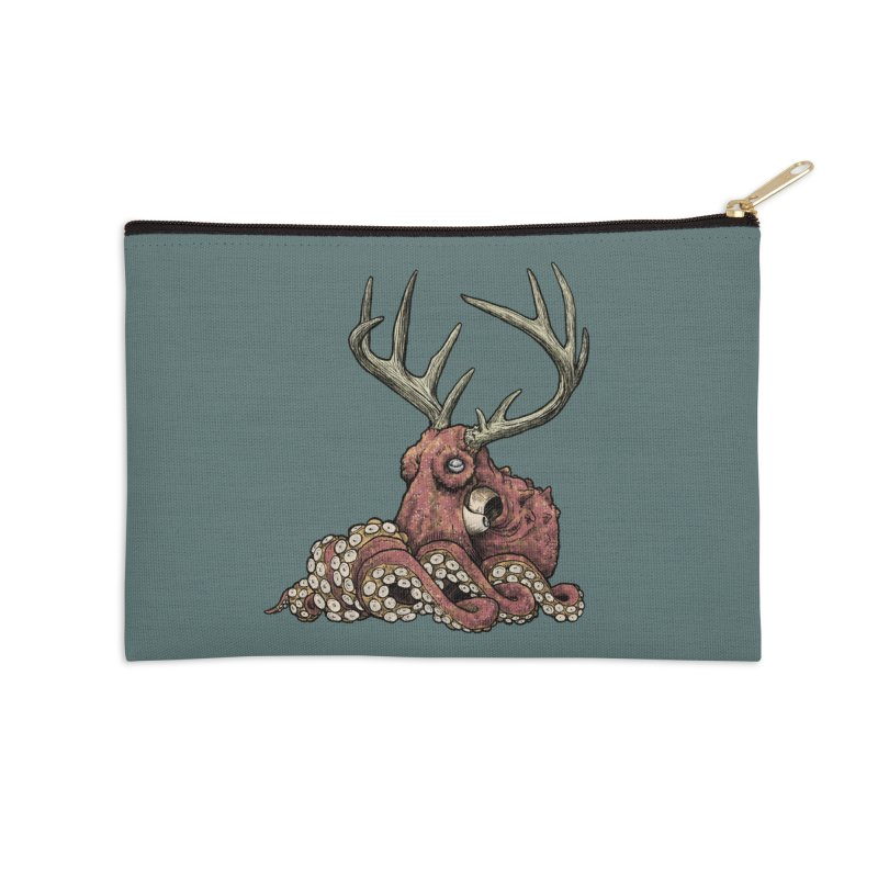 Octolope Accessories Zip Pouch by Octophant's Artist Shop