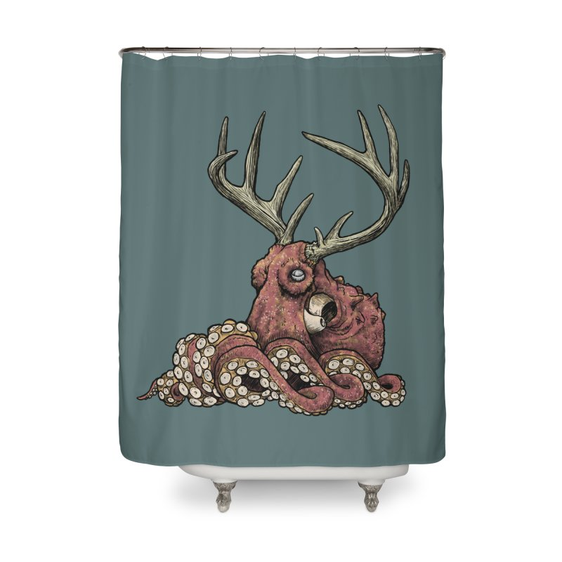 Octolope Home Shower Curtain by Octophant's Artist Shop