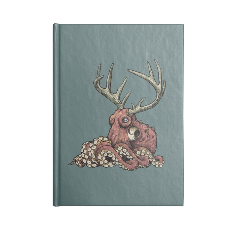 Octolope Accessories Notebook by Octophant's Artist Shop