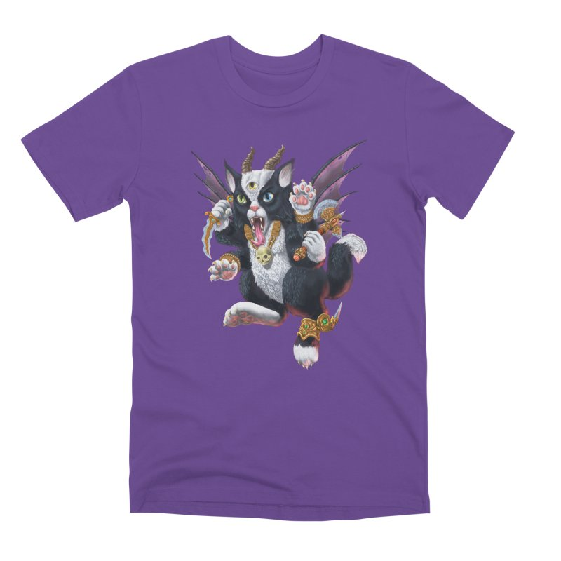 Demon Kitten Men's Premium T-Shirt by Octophant's Artist Shop