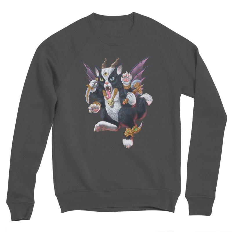 Demon Kitten Men's Sponge Fleece Sweatshirt by Octophant's Artist Shop