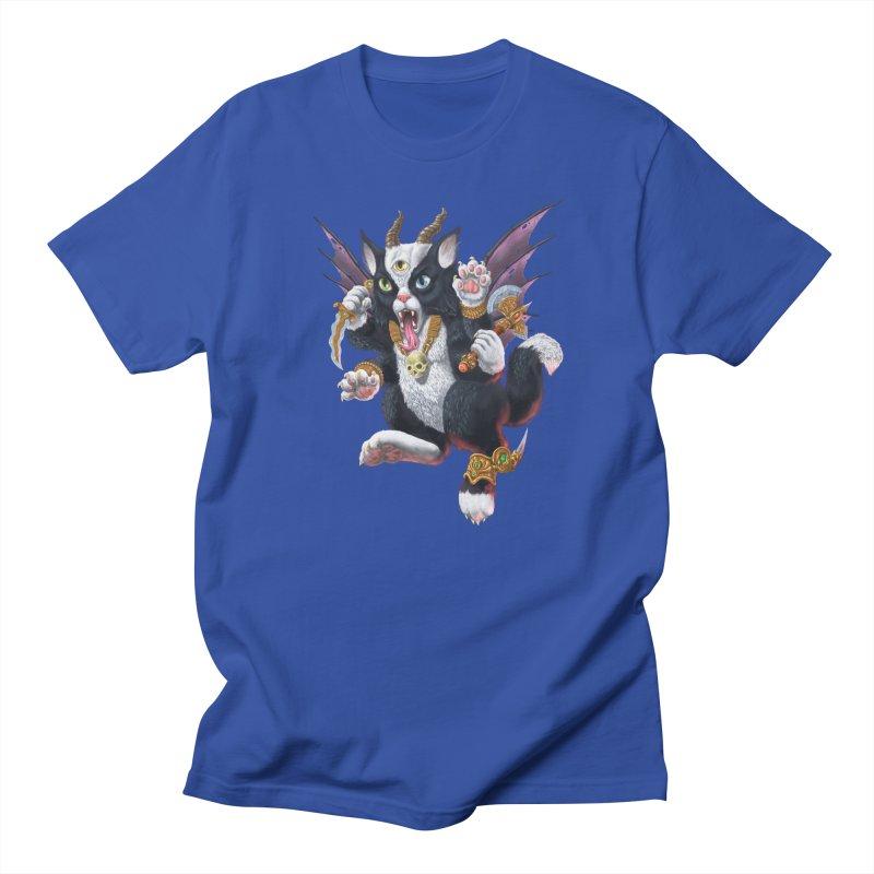 Demon Kitten Women's Regular Unisex T-Shirt by Octophant's Artist Shop