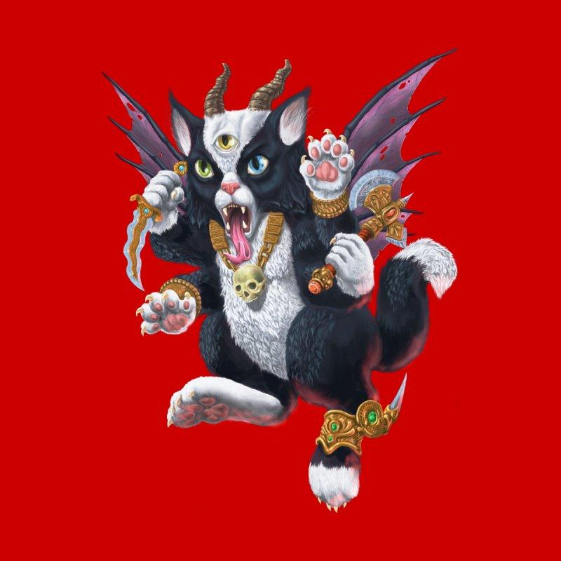 Demon Kitten Women's Longsleeve T-Shirt by Octophant's Artist Shop