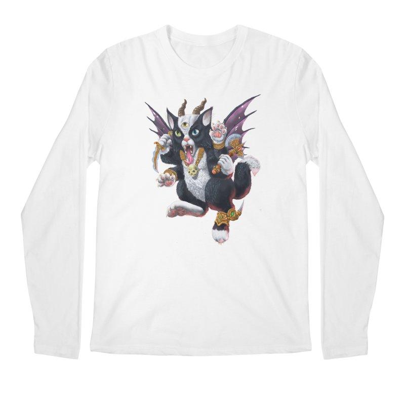 Demon Kitten Men's Longsleeve T-Shirt by Octophant's Artist Shop