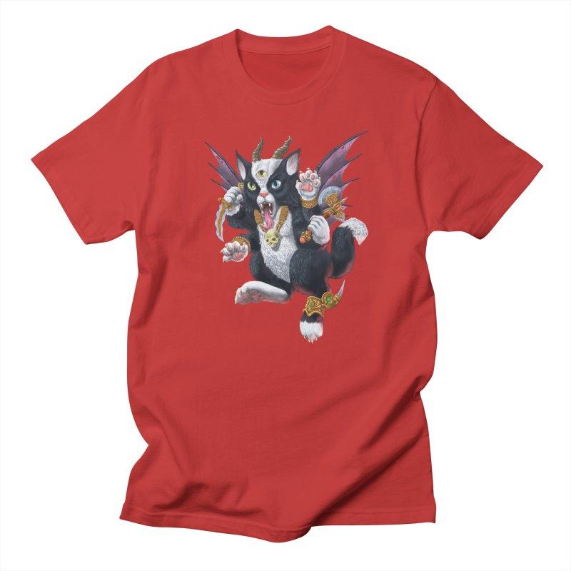 Demon Kitten Women's Unisex T-Shirt by Octophant's Artist Shop