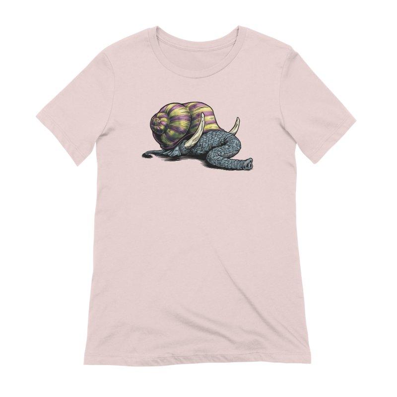 Shellephant Women's Extra Soft T-Shirt by Octophant's Artist Shop