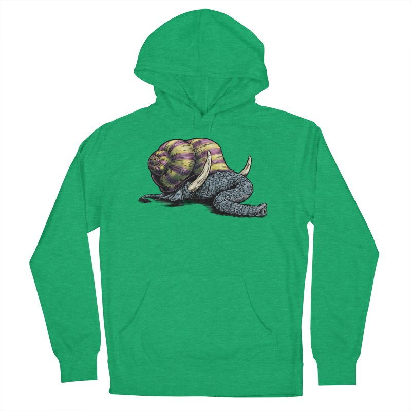 Shellephant Women's French Terry Pullover Hoody by Octophant's Artist Shop