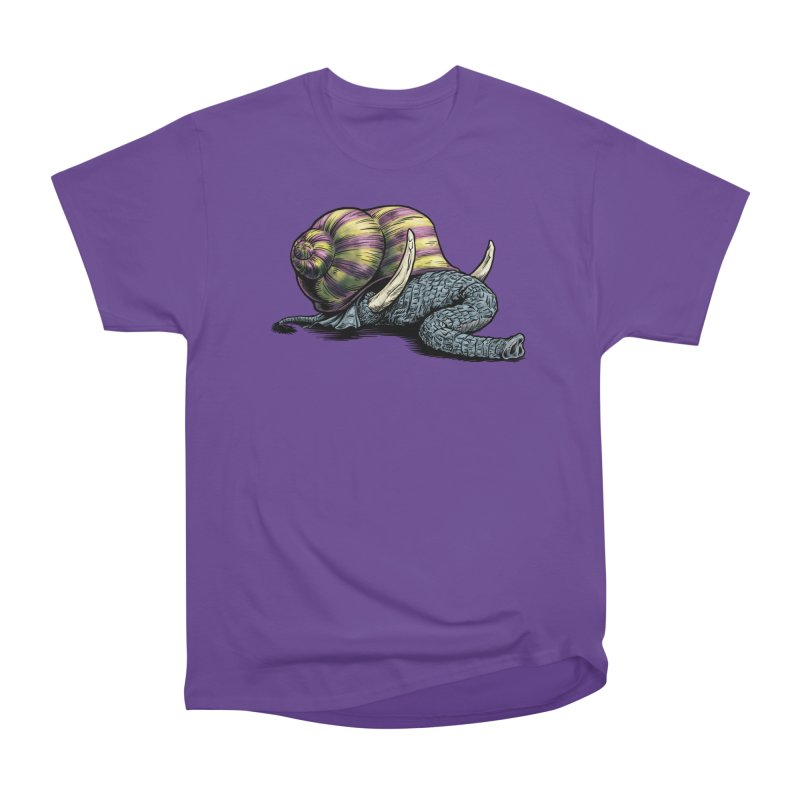 Shellephant Men's Heavyweight T-Shirt by Octophant's Artist Shop