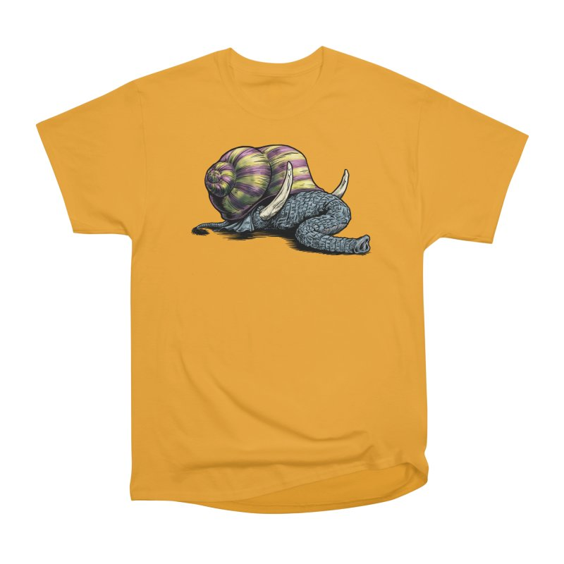 Shellephant Women's Heavyweight Unisex T-Shirt by Octophant's Artist Shop