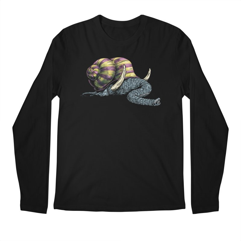 Shellephant Men's Regular Longsleeve T-Shirt by Octophant's Artist Shop
