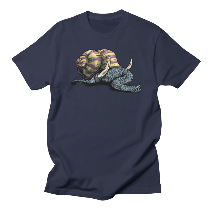 Shellephant Men's Regular T-Shirt by Octophant's Artist Shop
