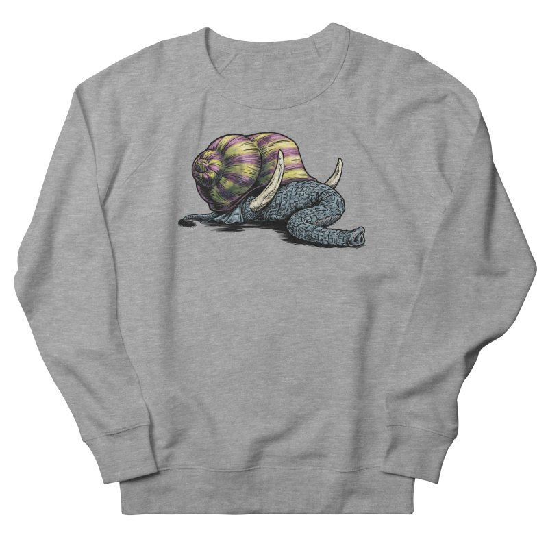 Shellephant Women's French Terry Sweatshirt by Octophant's Artist Shop