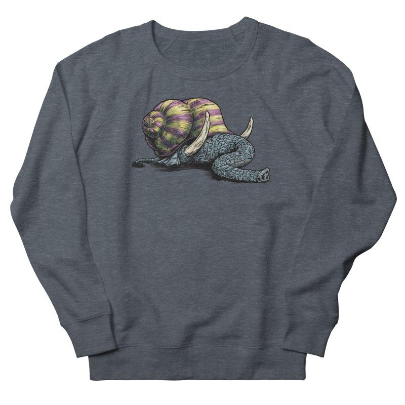 Shellephant Men's French Terry Sweatshirt by Octophant's Artist Shop