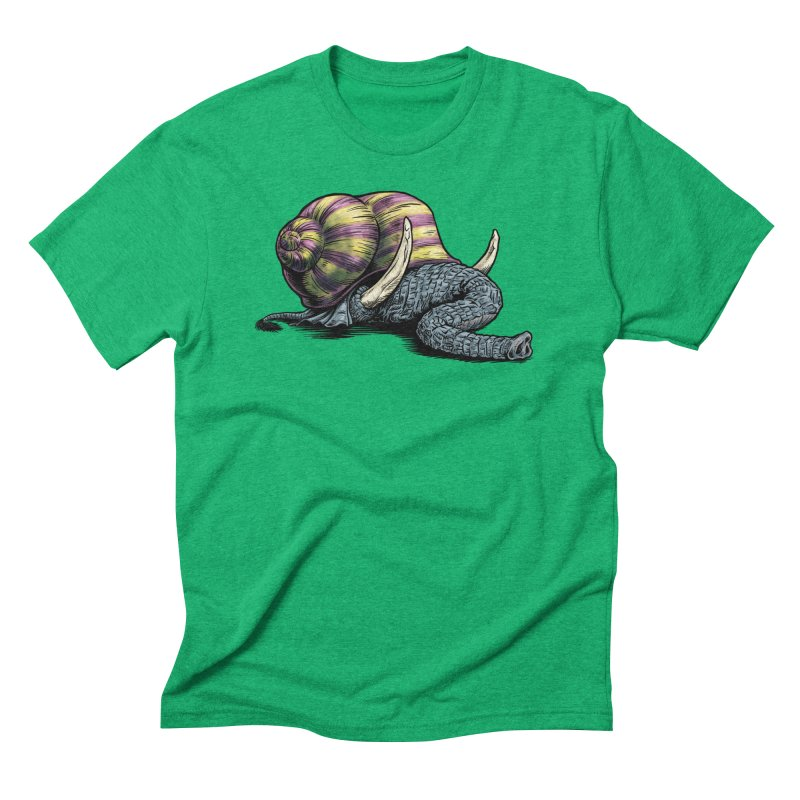 Shellephant Men's Triblend T-Shirt by Octophant's Artist Shop