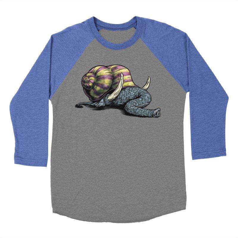 Shellephant Women's Baseball Triblend Longsleeve T-Shirt by Octophant's Artist Shop