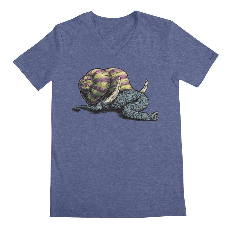 Shellephant Men's Regular V-Neck by Octophant's Artist Shop