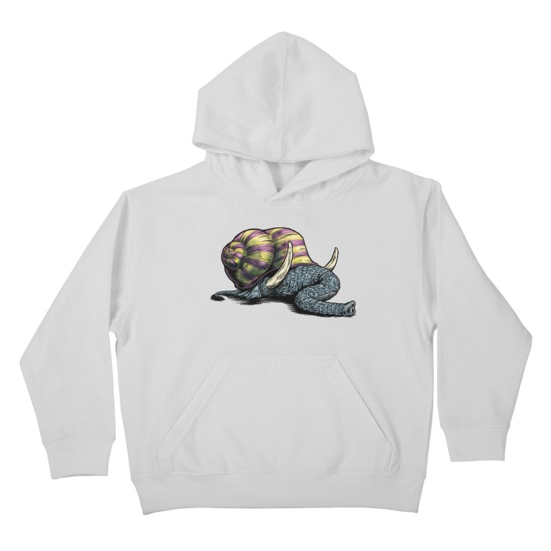 Shellephant Kids Pullover Hoody by Octophant's Artist Shop
